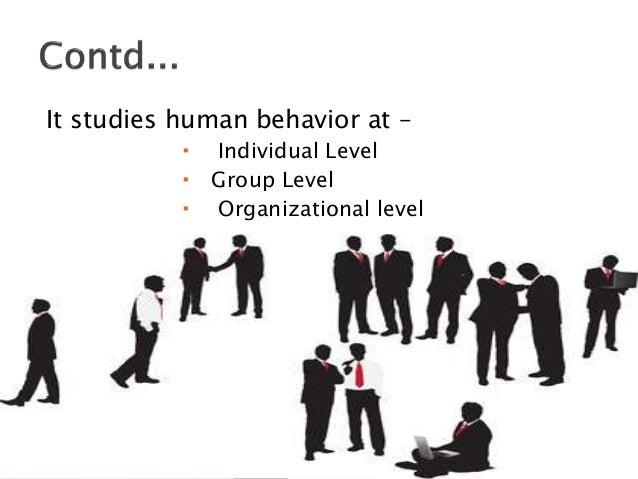 Introduction of organizational behavior
