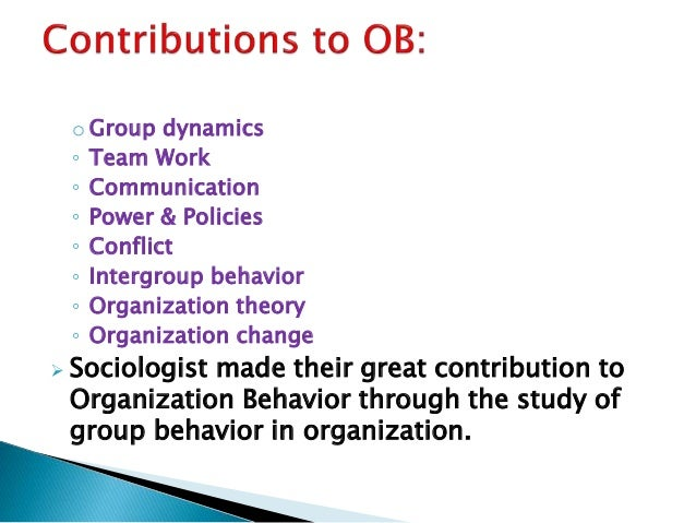 organizational behavior in the nfl The center for creative leadership's ( ) bill gentry created this video on the fly the night of his fantasy football draft a couple of weeks.