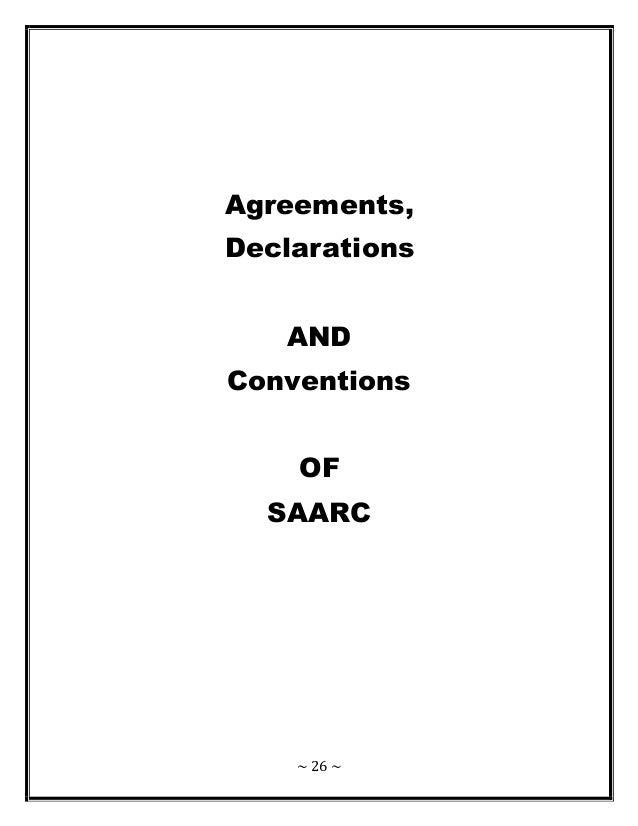 SAARC ( South Asian Association Regional Cooperation )
