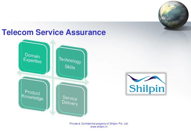 Telecom Service Assurance  Private & Confidential property of Shilpin Pvt. Ltd. www.shilpin.in