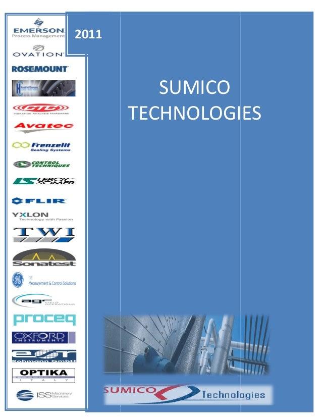 2011  SUMICO TECHNOLOGIES  Muhammad Irfan [Type the company name] 1/1/2011