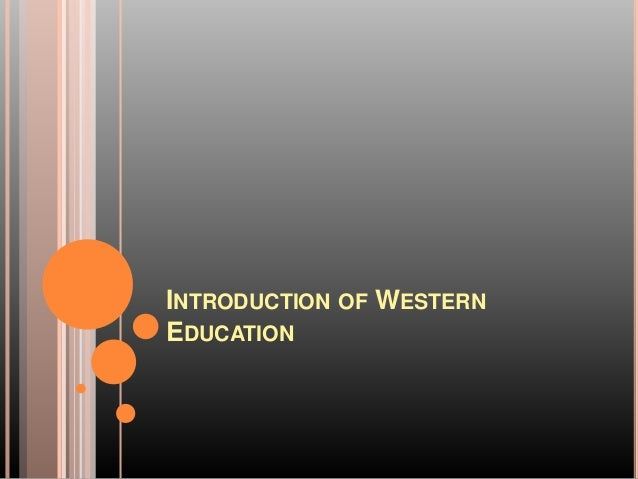 the introduction of education Conclusion at the us department of education, we view transparency, participation, and collaboration as vital to the success of our mission to improve the quality and accessibility of education in the united states.
