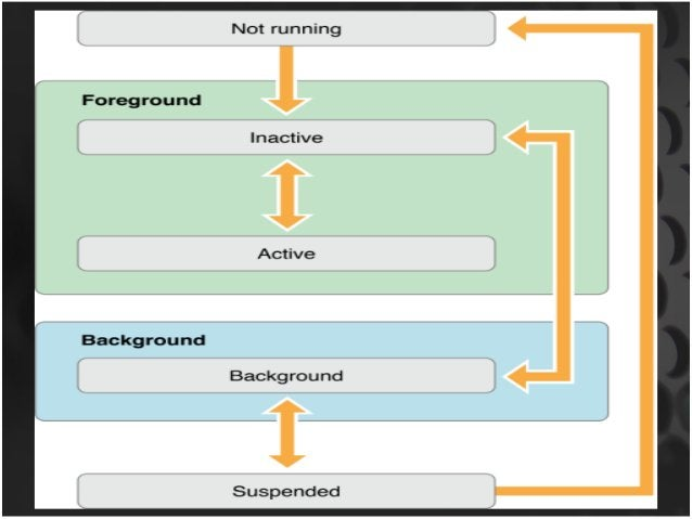 View Controller Life Cycle  • - (void)viewDidLoad;  • -( B(OvoOidL))vaineiwmWatiellAd;ppear:  • -( B(OvoOidL))vaineiwmDait...
