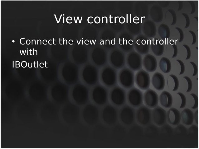 UINavigationController  • The UINavigationController class  implements a specialized view  controller that manages the  na...