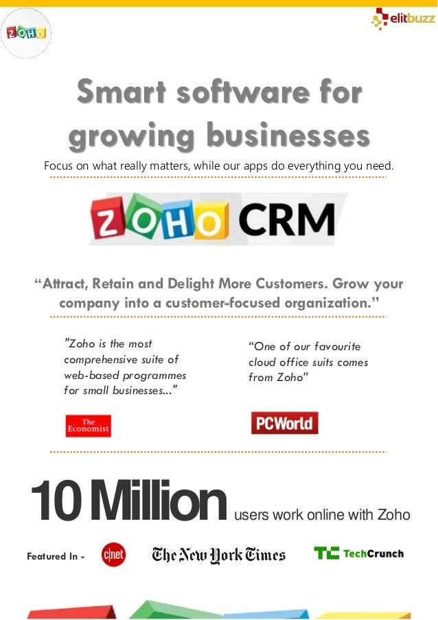 Zoho CRM - Introduction