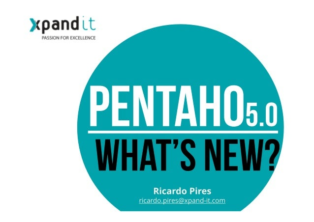 Introduction Pentaho 5.0