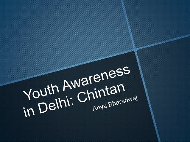 Youth Awareness for Waste Management: Chintan, Delhi