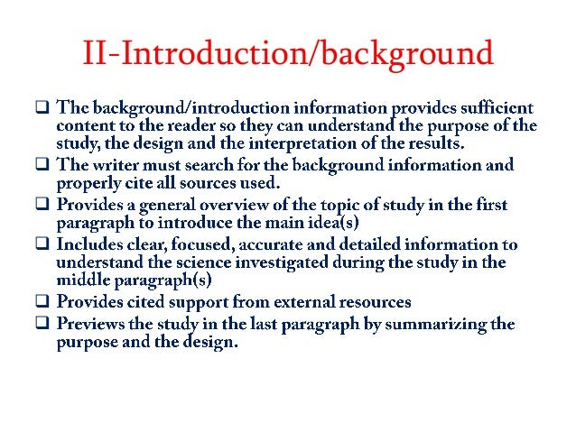 Dissertation rationale