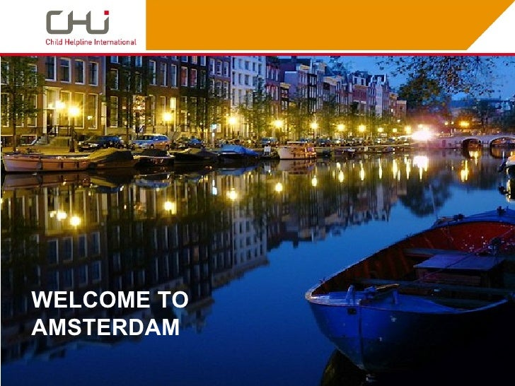 WELCOME TOAMSTERDAM