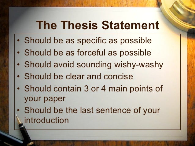 Introductions thesisstatements Slide 2