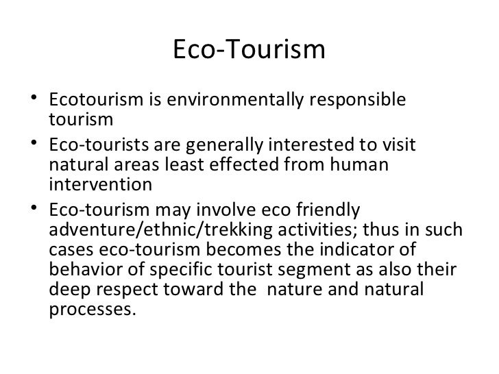 ecotourism principles and practices pdf