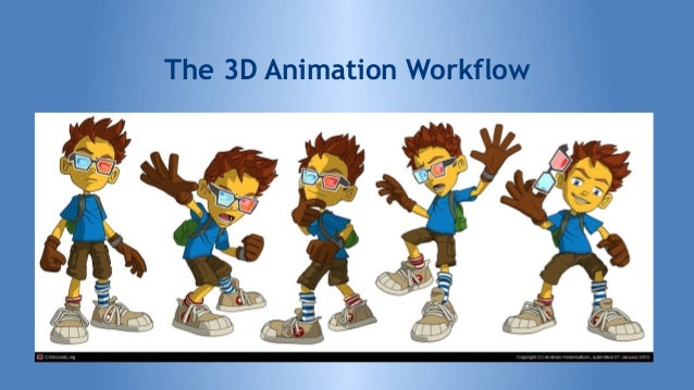 Character Design Workflow : D animation workflow best free home design idea