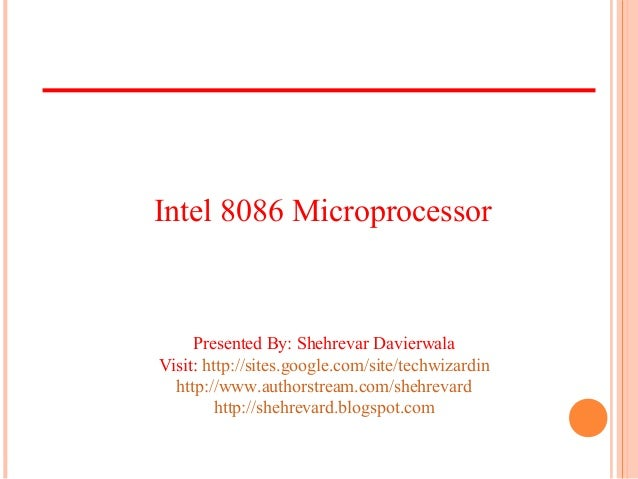 Introduction To Intel 8086 Part1
