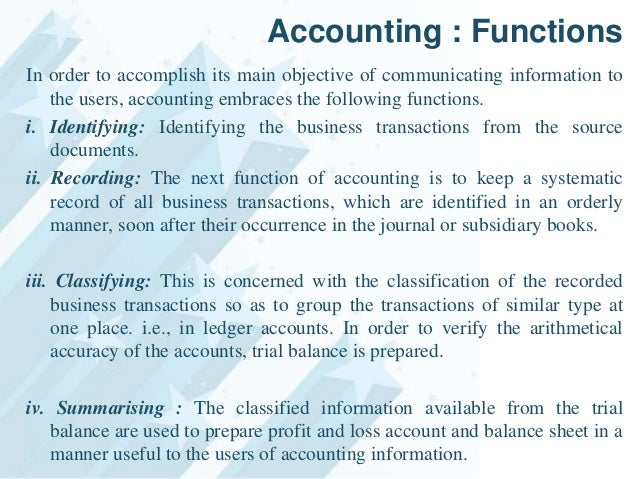 introduction of accounting 11 introduction accounting is a system meant for measuring business activities, processing of information into reports and making the findings available.