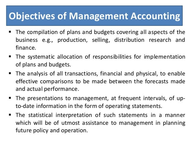 costs and account management