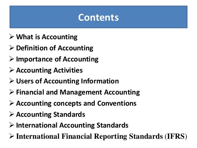 intro to accounting 110 100 Accounting accounting as degree career opportunities accounting graduates set up accounting systems that allow busi- nesses or individuals to organize, maintain, and audit financial records in their work, accountants may be involved in preparing tax returns, budgets, and financial statements, recording business.