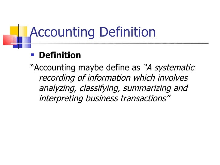 Introduction to accounting chapter 1 new