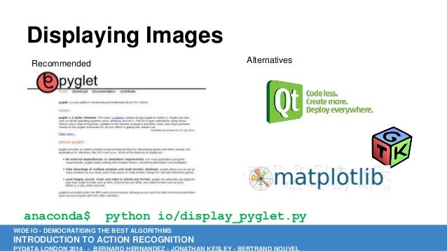 Introduction to Action Recognition in Python by Bertrand