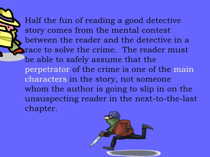 murder mystery story essay Check out our top free essays on murder mystery story to help you write your own essay.