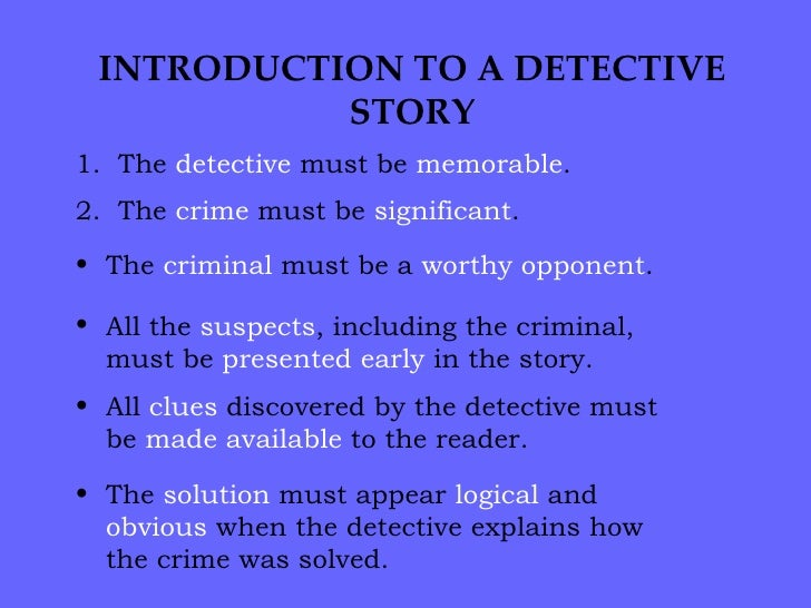 Writing crime fiction – 7 elements of gripping suspense