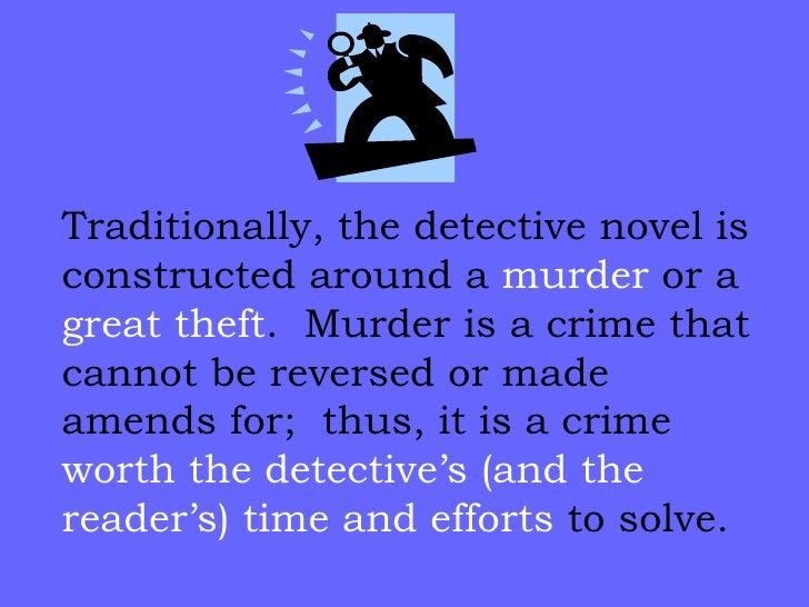 Crime fiction thesis