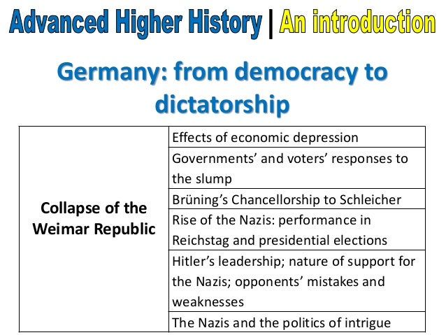 weakness in the weimar republic for the growth and rise to power of the nazi party to 1933 Why did the weimar republic fail and hitler gain power in 1933 until it failed and the nazi party took charge in 1933 why did the weimar republic fail.