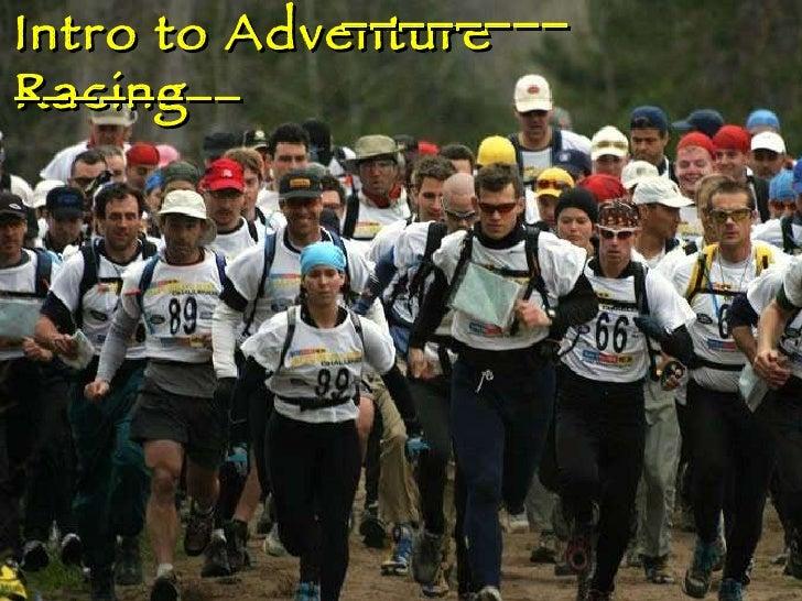 Intro to Adventure Racing  ________ ________