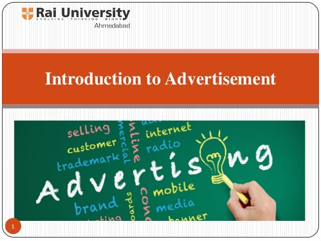 Introduction to Advertising - PowerPoint PPT Presentation