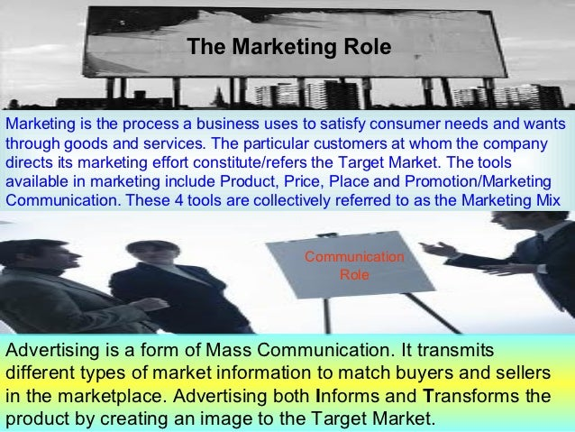 an introduction to the mass communication process advertising Stanley baran is the founding chair of the department of communication at bryant university, where he teaches courses in mass communication and.