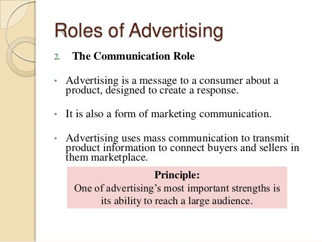 the role of advertising appeals role Sex in advertising is the use of sex appeal in advertising to help sell a particular product or service according to research, sexually appealing imagery does not need to pertain to the product or service in question.