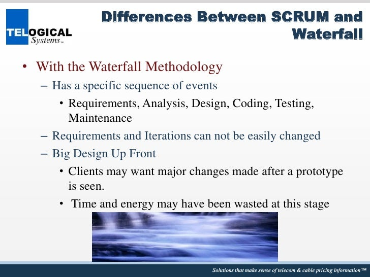 Introduction to agile and scrum innotech for Difference between agile and waterfall testing