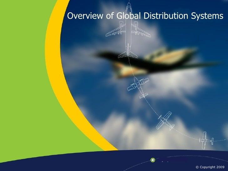Overview of Global Distribution Systems