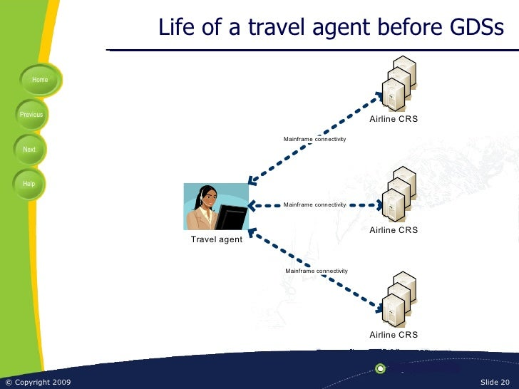 Life of a travel agent before GDSs