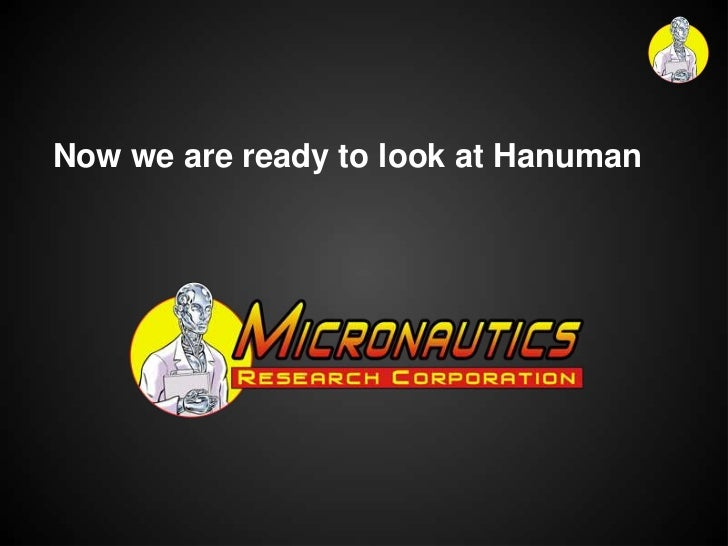 Now we are ready to look at Hanuman