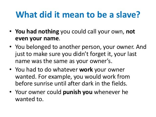 Introduction to american slavery Slide 3