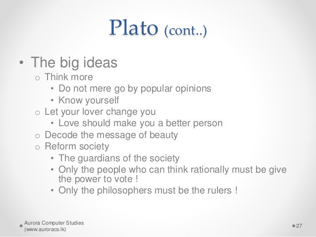 eudaimonia in platos republic A comparison between the ethics of socrates and confucius  and justice offered by socrates in plato's republic,  and the quest for eudaimonia through moral.