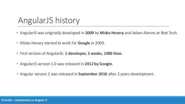 angular js version