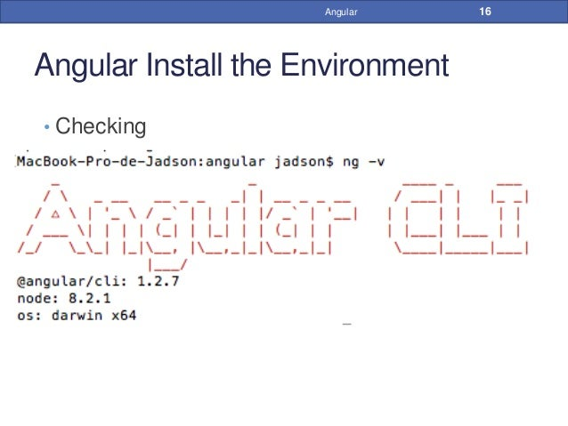 how to open angular project