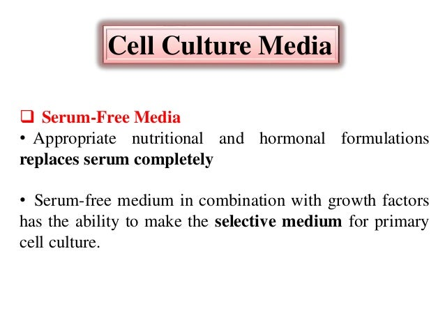 Introduction to animal cell culture