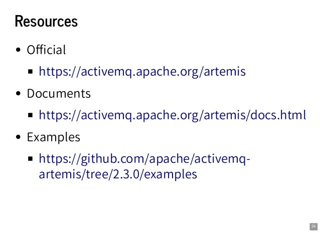 Introduction to Apache ActiveMQ Artemis