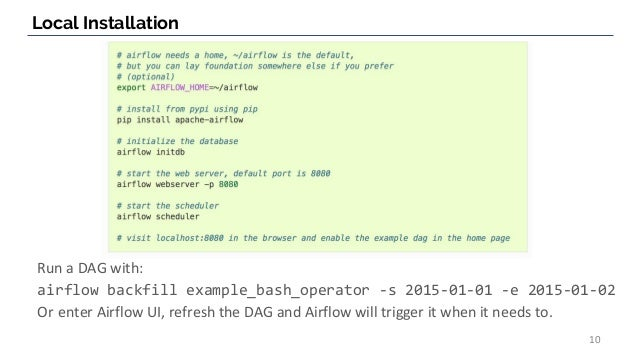 Introduction to Apache Airflow