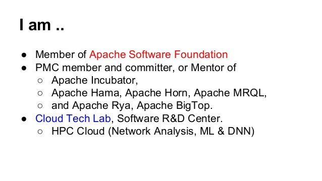Introduction to apache horn (incubating) Slide 2