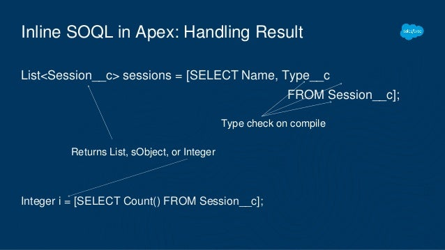 Introduction to Apex for Developers