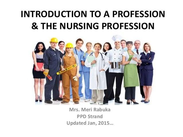 what is nursing professionalism