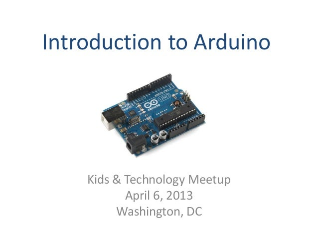 Introduction to arduino