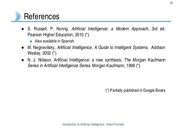 artificial intelligence russell 3rd pdf