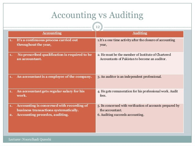 what is auditing in accounting pdf