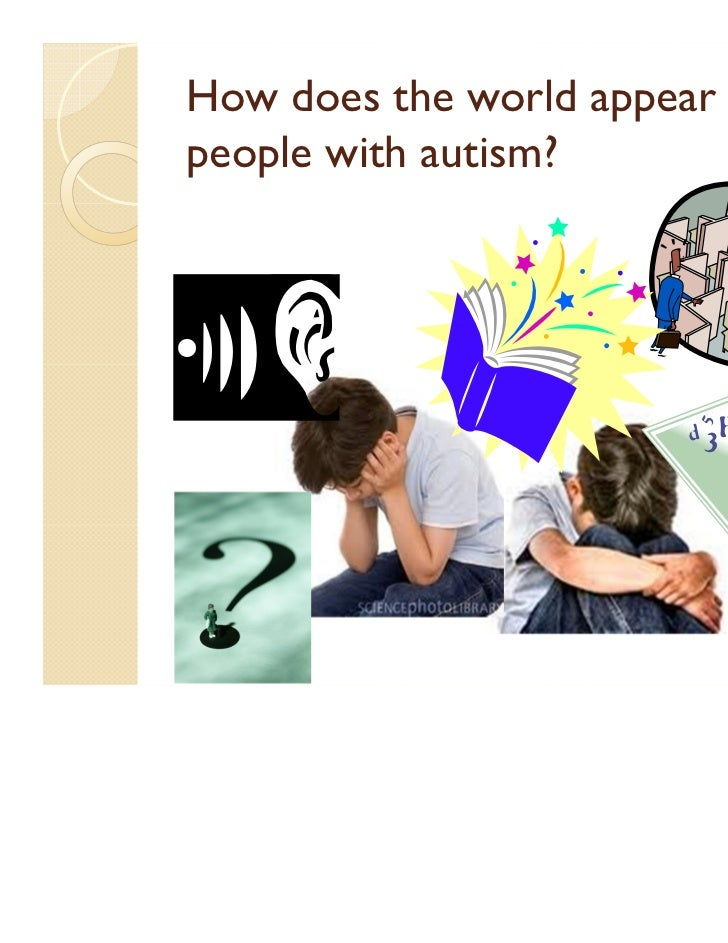 introduction to autism Autism introduction the only information that i had ever known regarding autism came from a nineteen eighties movie called rain man even then, the thought of it was quickly lost in the archives of my mind.