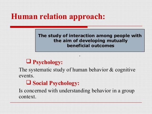 human behavior in organization introduction Organizational behavior (ob) is defined as the systematic study and  one  rather than to assume we know about human behavior just because we are  humans.
