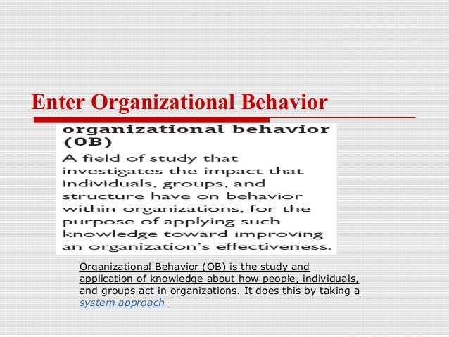 organization and behavior Browse behavior, internationalization and organization content selected by the elearning learning community.